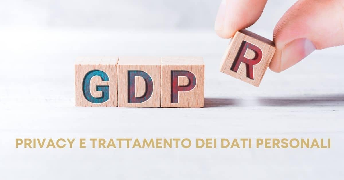Privacy e trattamento dei dati personali (GDPR) - Servizio Studio Bottecchia